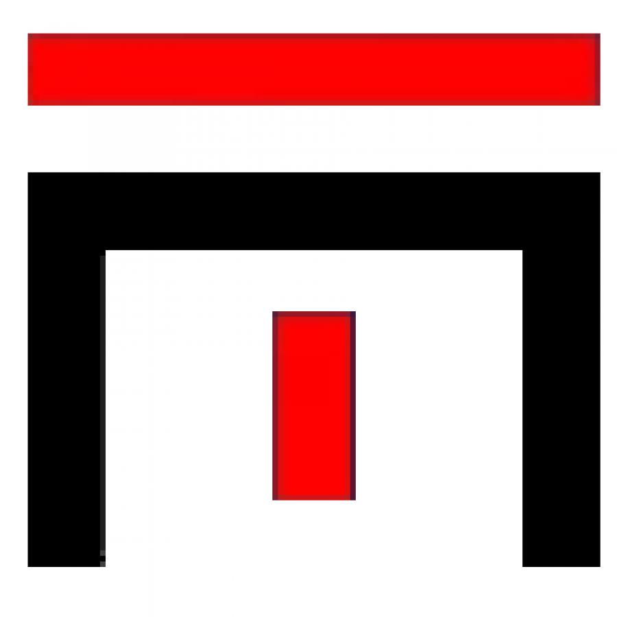 modern torch logo